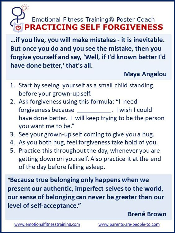 Sass and Substance Live your sassy life with style and substance – Self Forgiveness Worksheets